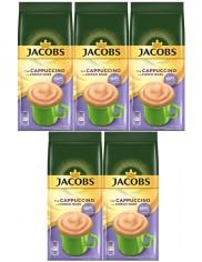 Jacobs Choco Cappuccino Milka Nuss Kawa o Smaku Czekolady i Orzechów w Torebce Zestaw ( 5 szt x 500 g)