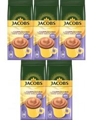 Jacobs Choco Cappuccino Milka Vanille Kawa o Smaku Czekolady z Wanilią w Torebce ( 5 szt x 500 g)