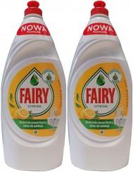 Fairy Płyn do Mycia Naczyń Cytryna (2 x 900 ml)