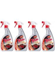 Tytan Aktywny Płyn Do Czyszczenia Płyt Ceramicznych Spray Zestaw ( 4 szt x 500g )