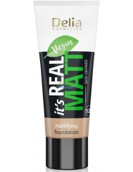 Delia Podkład do Twarzy Matujący 102 Natural Real Matt 30 ml