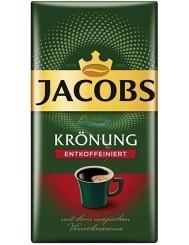 Jacobs Kawa Mielona Bezkofeinowa Kronung 500 g (DE)