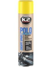 K2 Preparat do Deski Rozdzielczej Pielęgnuje i Konserwuje Spray Mix Zapach Polo 300 ml