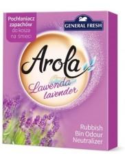 General Fresh Pochłaniacz Zapachu do Kosza na Śmieci Arola Lawenda 1 szt