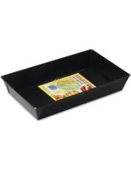 Blacha do Pieczenia (39x23,5x7 cm) Fakturowana Nieprzywierająca Czarna SNB 1 szt
