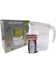 Dzbanek Filtrujący Biały Aquaphor Dalia 2,9 L + Wkład B5 na 300 L Wody 1 szt