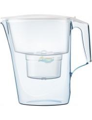 Dzbanek Filtrujący Biały Aquaphor Time 2,5 L + Wkład Maxfor+ na 200 L Wody 1 szt