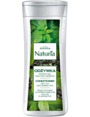 Joanna Odżywka do Włosów Normalnych i Przetłuszczających się Pokrzywa i Zielona Herbata Naturia 200 g
