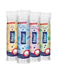 Velvet Płatki Kosmetyczne 100 % Bawełny 120 sztuk
