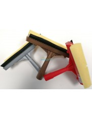 Myjka ze Ściągaczką do Szyb i Innych Powierzchni Szklanych (20 cm) Różne Kolory Konex 1 szt