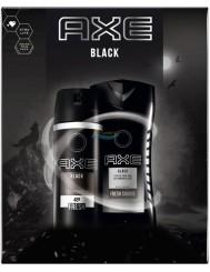 Axe Black Zestaw dla Mężczyzn – Żel pod Prysznic 250 ml + Dezodorant Spray 150 ml