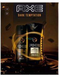 Axe Dark Temptation Zestaw dla Mężczyzn – Żel pod Prysznic 250 ml + Dezodorant Spray 150 ml