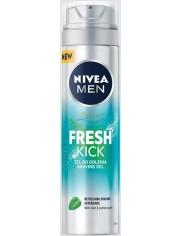 Nivea Żel do Golenia dla Mężczyzn z Miętą i Wodą Kaktusową Fresh Kick 200 ml