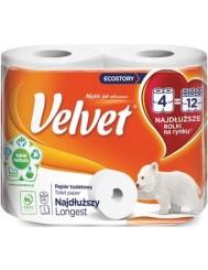 Velvet Papier Toaletowy Najdłuższy (4 rolki)
