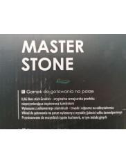 Garnek (4 L, 24 cm) do Gotowania na Parze Nieprzywierający Master Stone Ambition 1 szt