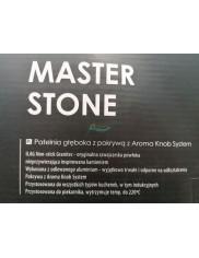 Patelnia (28 cm, 3,5 L) z Pokrywą Głęboka Indukcyjna Nieprzywierająca Master Stone Ambition 1 szt
