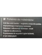 Patelnia (28 cm) do Naleśników do Wszystkich Typów Kuchenek Indukcyjna Nieprzywierająca Master Stone Ambition 1 szt