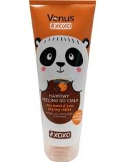 Venus Peeling do Ciała Kawowy o Zapachu Pomarańczy i Czekolady Modelujący, Wygładzający i Odżywiający XOXO 200 ml
