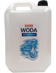 Kamix Woda Destylowana Ultra czysta do Żelazek i Akumulatorów 5 L