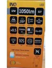 Żarówka LED E27 1050lm 12W-75W Biała Neutralna INQ 1 szt