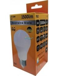 Żarówka LED E27 1500lm 18W-99W Biała Neutralna INQ 1 szt