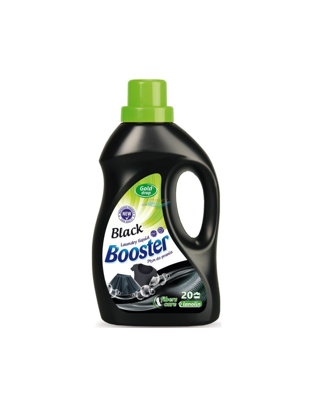 Booster Płyn do Prania Tkanin Czarnych i Ciemnych z Lanoliną 1 L (20 prań)