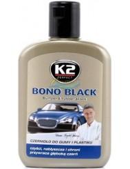 K2 Czernidło do Regeneracji Czarnych Elementów Samochodowych Bono Black 200 ml