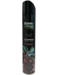 Green Fresh Odświeżacz Powietrza Spray Aromatyczne Drzewo Sandałowe 400 ml