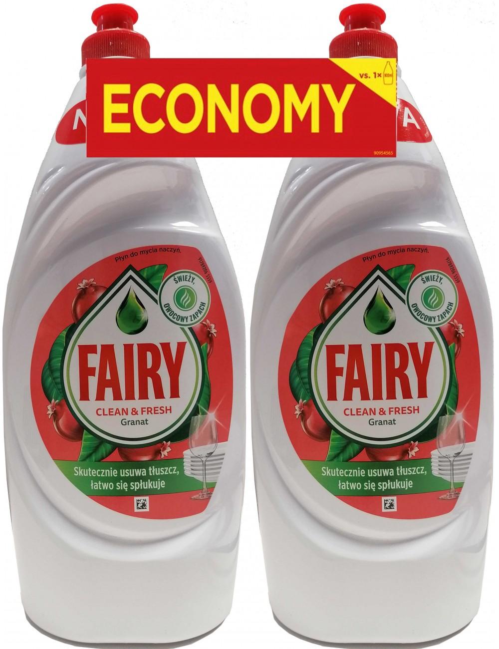 Fairy Płyn do Mycia Naczyń Granat (2 x 900 ml)