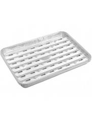 Piknik Tacki Aluminiowe na Grilla 5 szt