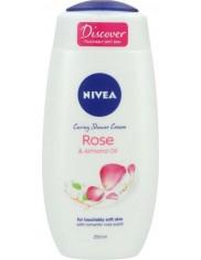 Nivea Żel pod Prysznic Rose & Almond Oil 250 ml
