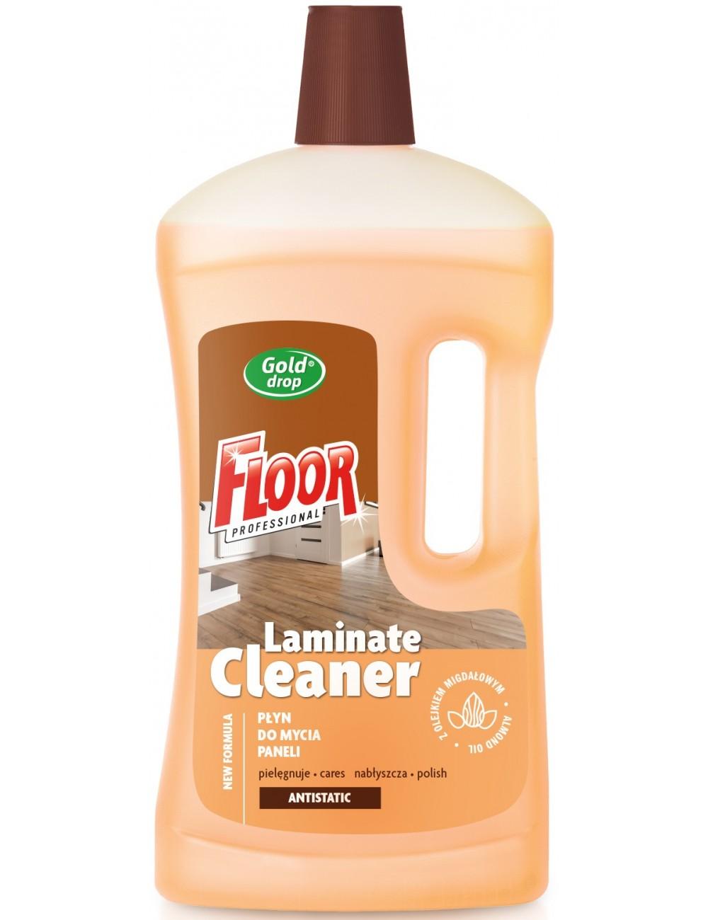Floor Professional Płyn do Mycia Paneli z Olejkiem Migdałowym Antystatyczny Laminate Cleaner 1 L