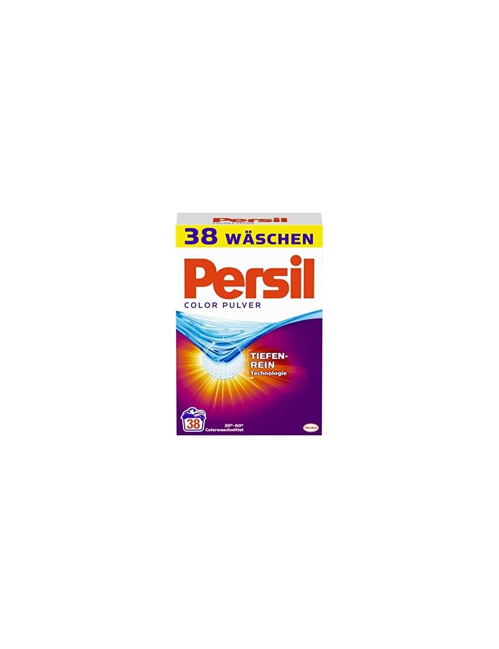 Persil Proszek do Prania Tkanin Kolorowych 2,47kg (38 prań) (DE)