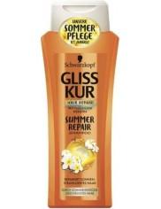 Gliss Kur Szampon do Włosów Zniszczonych z olejkiem Monoi i filtrem UV Summer Repair 250 ml (DE)