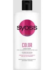Syoss Odżywka do Włosów Farbowanych i Rozjaśnianych Kwiaty Tsubaki Color 440 ml