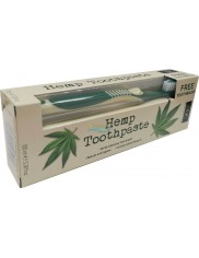 XOC XPEL Pasta do Zębów z Olejkiem Konopnym 100 ml + Gratis Szczoteczka 1 szt (UK)