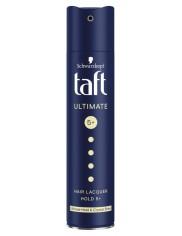 Taft Ultimate Hold 5+ Crystal Shine Radykalnie Mocny Lakier do Włosów 250 ml