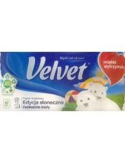 Velvet Papier Toaletowy Delikatnie Biały 3-warstwowy Edycja Słoneczna (8 rolek)
