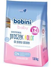 Bobini Baby Kolor Hipoalergiczny Skoncentrowany Proszek do Prania Ubranek Niemowlęcych i Dziecięcych z Naturalnym Mydłem 1,8 kg