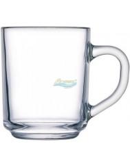 Kubki (250 ml) z Uchem ze Szkła Hartowanego Przezroczyste Arcopal 6 szt