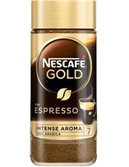 Nescafe Kawa Rozpuszczalna w Słoiku Arabika Gold Espresso Original Intense Aroma 100 g