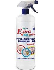 4U Płyn do Dezynfekcji Powierzchni i Rąk Extra+ Antivirus 1 L