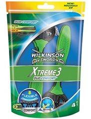 Wilkinson Sword Xtreme3 Maszynki do Golenia Jednorazowe Duo Comfort 4 szt