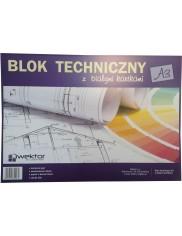 Blok Techniczny A3 Biały