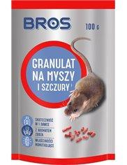 Bros Granulat Na Myszy i Szczury 90g – granulat gryzoniobójczy