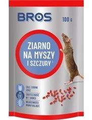 Bros Ziarno Na Myszy i Szczury 100g – ziarno gryzoniobójcze