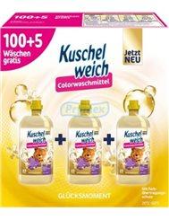 Kuschelweich Płyny do Płukania Glucksmoment Zestaw (3x 1,925 L) (105 prań) (DE)