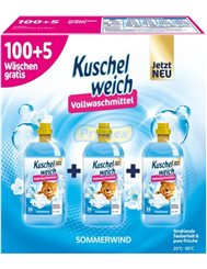 Kuschelweich Płyny do Płukania Sommerwind Zestaw (3x 1,925 L) (105 prań) (DE)