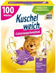 Kuschelweich Proszek do Prania Tkanin Kolorowych Glucksmoment 5,5 kg (100 prań) (DE)