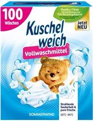 Kuschelwiech Proszek do Prania Tkanin Białych Sommerwind 5,5 kg (100 prań) (DE)
